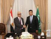 بهاء أبو شقة يصدر قرارًا بتعيين حسين الهوارى في الهيئة العليا للوفد