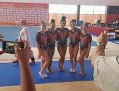 منتخب سيدات الجمباز يحقق ذهبية دورة الألعاب الأفريقية