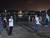 صور.. حمة مكثفة لإزالة اشغالات كورنيش النيل بمنطقة الأعصر بدمياط