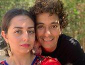 هبة مجدى ومحمد محسن يكشفان عن وجه ابنتهما دهب للمرة الأولى