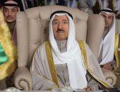 فيديو.. أمير الكويت يستقبل مرزوق الغانم بمقر إقامته فى أمريكا