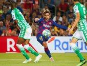 برشلونة ضد ريال بيتيس.. جريزمان يحقق رقما مميزا في الدوري الإسباني