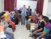 """""""لغة الإشارة"""" دورة تدريبية تنظمها وحدة التوظيف بجامعة سوهاج.. صور"""