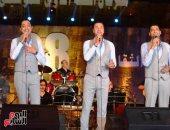 """فريق """"على مر الأجيال"""" يبدع فى حفل مهرجان القلعة الدولي للموسيقى"""