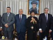 محافظ الدقهلية يشارك بمولد الشهيد مارجرجس: الوحدة الوطنية فى مصر راسخة