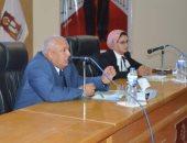 """محافظ الوادى الجديد يشهد ختام برنامج """" أهل مصر """" لشباب المحافظات الحدودية"""