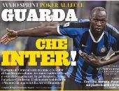 الصحافة الإيطالية تحتفل بضربة كونتى الأولى.. هو ده الإنتر