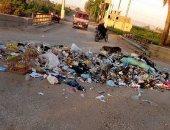 شكوى من انتشار القمامة بقرية أولاد عزاز بمحافظة سوهاج