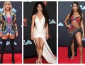 تعرف علي دور الأزياء التي أنتقت النجمات منها تصميمات ملابسهن بحفلMTV