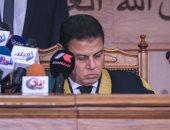 """فيديو.. لحظة النطق بالحكم على قيادات الإخوان فى قضية """"التخابر مع حماس"""""""
