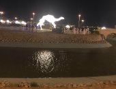 صور.. تدشين أكبر مجسم هجن بالعالم فى السعودية