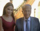 صور.. سيرين عبد النور تلتقي الرئيس اللبنانى ميشال عون