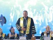 """""""العربية للعلوم والتكنولوجيا"""" تحتفل بتخريج كلية الدراسات العليا فى الإدارة"""