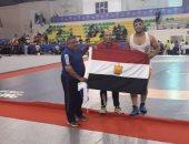 عبداللطيف محمد يحقق ذهبية المصارعة بدورة الألعاب الإفريقية
