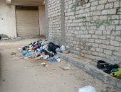 صور.. القمامة تحاصر شارع بالعجمى.. والأهالى يطالبون بتقنين جمعها ورفعها