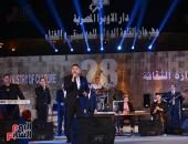 صور.. مجد القاسم يطرب جمهور محكى القلعة بأغاني فايزة أحمد