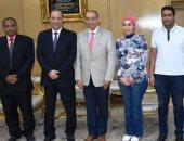 صور.. نائب محافظ أسوان يكرم جراح أورام مصرى بجامعة ميريلاند الأمريكية
