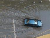 غرق شارع الثلاثيني الجديد فى المريوطية هرم بمياه الصرف الصحي