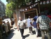 حى الزيتون بالقاهرة يشن حملات على الأكشاك وعربات الفول المخالفة