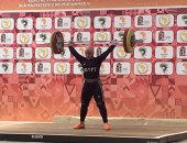 شاهد تتويج سارة سمير بذهبيات الأثقال فى دورة الألعاب الأفريقية