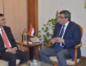 سفير اليمن يبحث مع مساعد وزير الخارجية مستجدات الأوضاع فى اليمن
