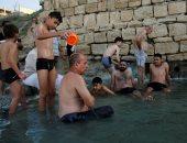 علاج الأمراض الجلدية بالمياه الكبريتية فى نهر دجلة