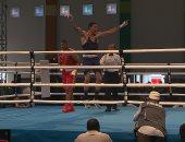 يسري حافظ  يتوج بذهبية الملاكمة بدورة الألعاب الإفريقية