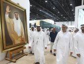 40 ألف زائر للمعرض الدولي للصيد والفروسية فى أبوظبى .. صور