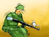كاريكاتير الصحف الإماراتية.. أسلحة قوات الاحتلال أمام أصوات الفلسطينيين