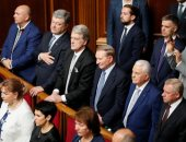 البرلمان الأوكرانى يمنح الثقة لأليكسى جونشاروك كرئيس جديد لمجلس الوزراء
