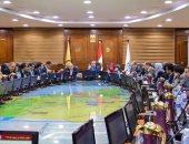 رئيس جامعة بنى سويف: انشاء مركز تطوير وسائل المحافظة على البيئة