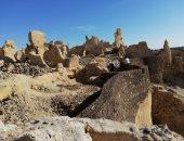 الآثار تنتهى من 70% من مشروع ترميم مدينة شالى بواحة سيوة