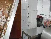 ضبط 3,760 طن لحوم وفراخ غير صالحة للاستخدام بأحد مطاعم مدينة نصر