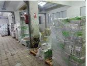 ضبط 124 ألف نسخة من الكتب المقلدة داخل مخزن فى الأزبكية