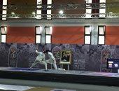 صور .. منتخب رجال سلاح المبارزة يحقق ذهبية دورة الألعاب الإفريقية