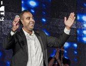 صور .. محمد عدوية يتألق فى حفله الأول بالسعودية