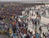 إنقاذ 47 حالة من الغرق وتسليم 583 تائه لذويهم فى رأس البر