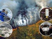 """أحداث العالم هذا الأسبوع * 100 صورة.. قمة مجموعة السبع فى مدينة """"بياريتز"""" الفرنسية.. والحرائق تشتعل بـ""""الأمازون"""".. والحيوانات تتفحم فى بوليفيا والرئيس يشارك فى الإطفاء.. وانعقاد أول جلسات البرلمان الأوكرانى"""