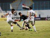 بيراميدز يتعادل سلبيا مع حرس الحدود بالشوط الأول فى كأس مصر