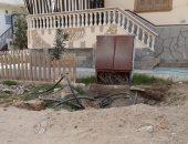 قارئ يشكو من تهالك المحول الكهربائى بمدينة راس البر بدمياط