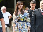 فى فينسيا.. مونيكا بيلوتشى تخطف الأنظار بفستان من Dolce & Gabbana