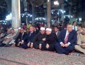 بدء احتفالية الأوقاف بالعام الهجرى بمسجد الحسين بحضور محافظ القاهرة والمفتى