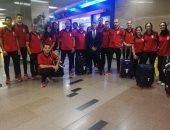 بعثتا فريق سلاح الشيش والمصارعة أبطال افريقيا يعودون للقاهرة من كازبلانكا