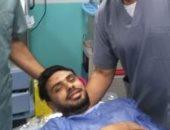 جهاز الطلائع يطمئن على محمد رزق بعد جراحة غضروف الركبة