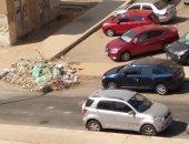 شكوى من انتشار القمامة والأوبئة بشارع الطابق الثالث فى التجمع الخامس