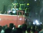 صور.. تشييع جنازة أمين شرطة بمسقط رأسه بالغربية بعد استشهاده أثناء الخدمة
