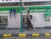صور.. استعدادات مكثفة لإفتتاح مكتب بريد مطور وسط الإسكندرية