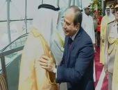 الرئيس السيسي يغادر الكويت بعد زيارة رسمية استغرقت يومين..فيديو