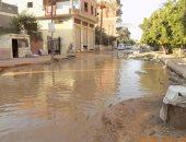 أهالى الحلمية بمركز أبوحماد بمحافظة الشرقية يشكون سوء الصرف الصحى
