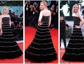 بعرض فيلم joker في فينسيا.. كيت بلانشيت تخطف الأنظار بفستان أسود